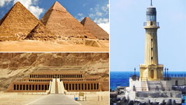 Cairo, Alexandria and Luxor from Sharm 3 Days by plane private trip
