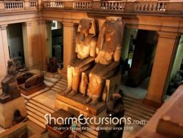 Inside the Egyptian Museum on Cairo Tour from Sharm