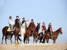 Group horse riding excursion Sharm El Sheikh
