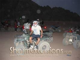 Quad Biking at Sharm Sunset