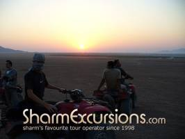 Quad Biking at Sunset