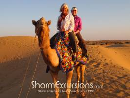 2 People on Camel Sharm