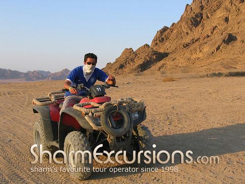 Sharm Quad Biking In Egypt Desert