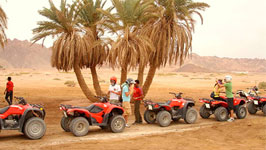 Question about Quad Biking in Sharm Desert